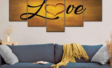 موارد لزوم استفاده از انواع تابلوهای برجسته و جذاب در دیزاین منزل
