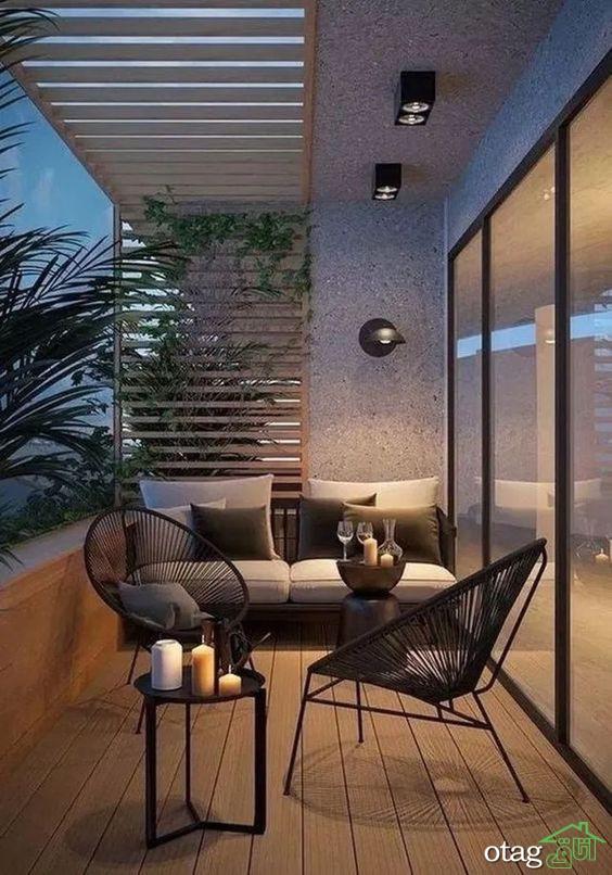 آشنایی با نحوه بهره مندی از ایده های خلاقانه در دیزاین تراس منازل مسکونی