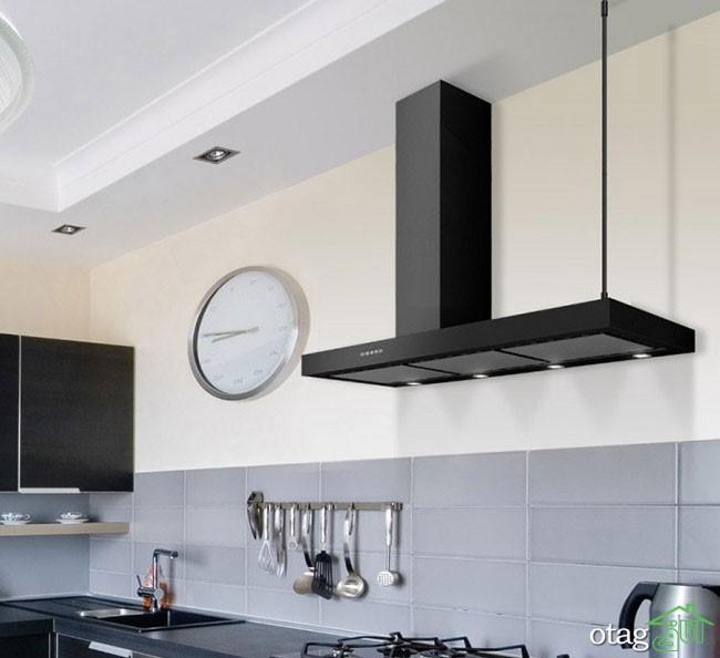 تأثیر هود آشپزخانه بر زیبایی دکوراسیون داخلی آشپزخانه های شما