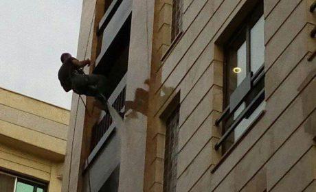 نماشویی با طناب به وسیله کار در ارتفاع چگونه است؟