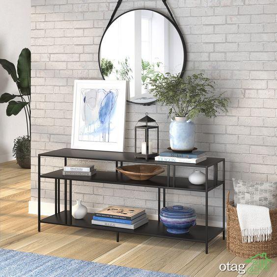 امکان استفاده از لوازم برنزی دکوری جذاب برای تزئین دیزاین منزل