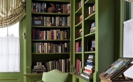 توجه به خلاقیت در پدید آوردن کتابخانه شیک در منزل