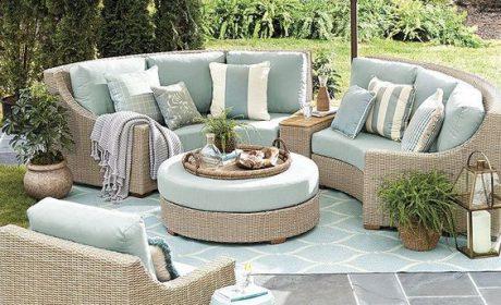 زیباترین و متنوع ترین مدل های مبلمان حیاط برای زیباسازی حیاط منزل