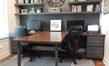 توجه به دکوراسیون دفتر کار با استفاده از طراحی های جدید و ایده های نوآورانه