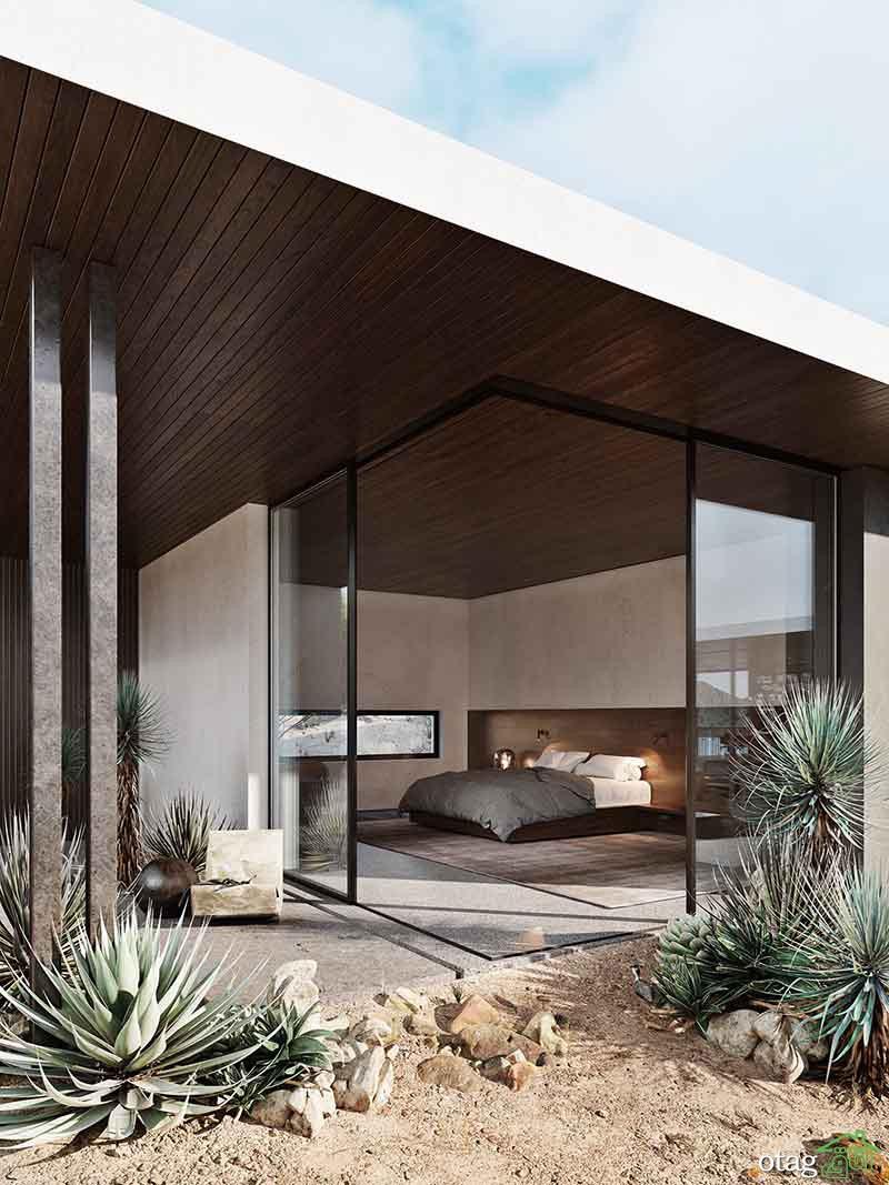 ویلاهای لوکس دنیا در مناطق کویری و صحرایی با طراحی بینظیر