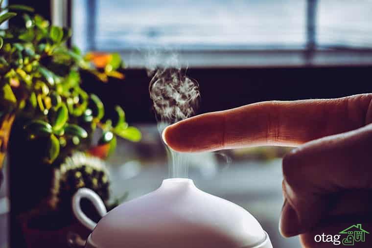 انواع دستگاه خوشبو کننده هوا و آشنایی با روغنهای معطر
