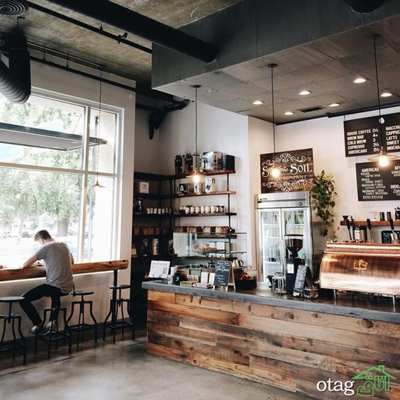 آشنایی با تأثیر بی نظیر دکوراسیون کافی شاپ مدرن در جذب مشتری به خود