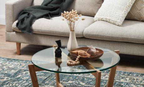 مدل های متنوع میز شیشه ای برای استفاده و دکوراسیون بهتر خانه