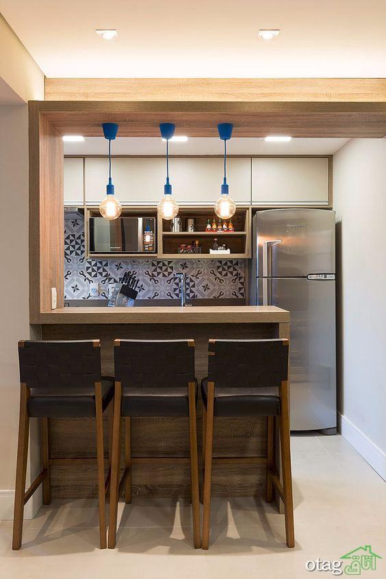 ایدههای جذاب تزیین اپن آشپزخانه در منازل قدیمی و جدید