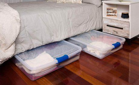 استفاده از فضای زیر تخت با ایدههای خلاقانه و کاربردی