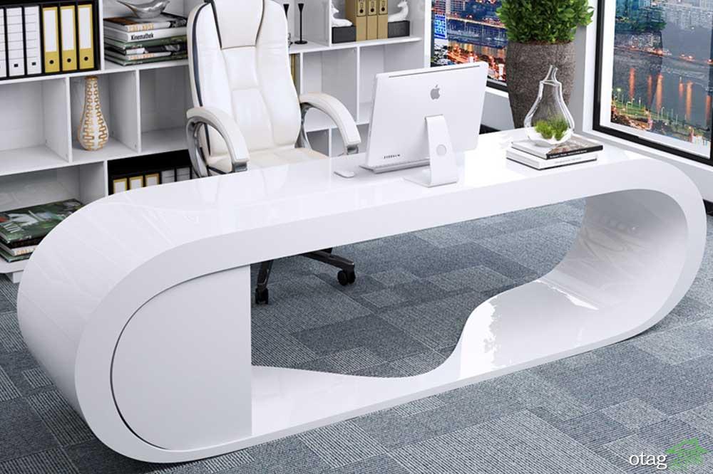 نحوه استفاده از انواع میز تحریر اداری در طرح های جدید