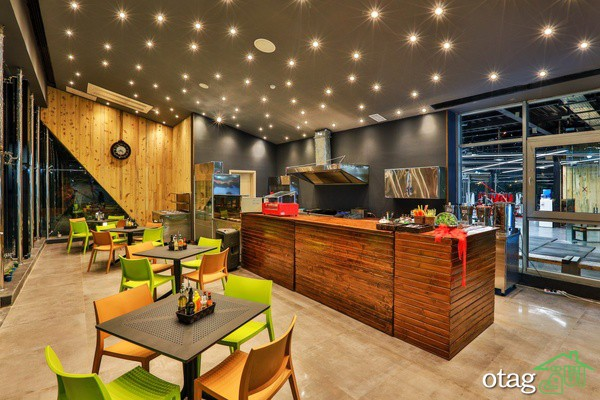 اوج خلاقیت در زیباسازی پیشخوان رستوران و جذب مشتری