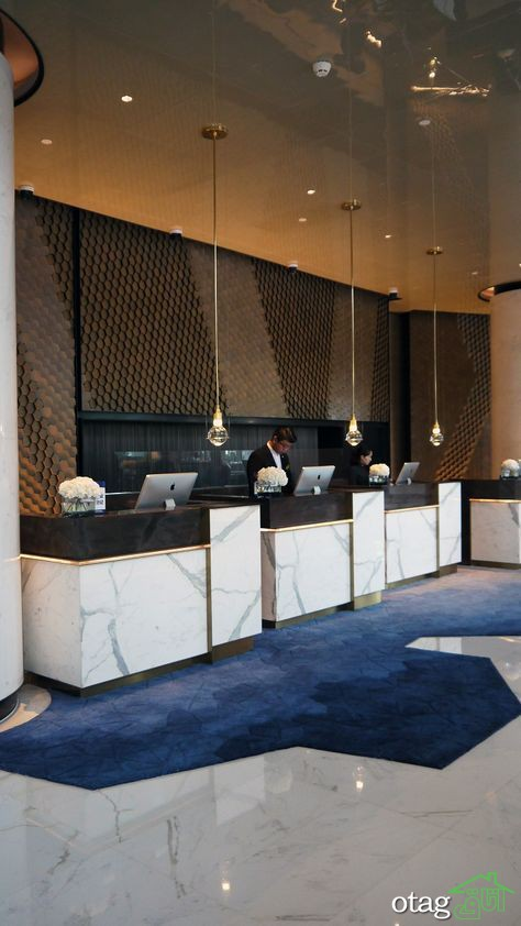 توجه به لابی هتل ها در زیباسازی محیط و جذب مشتری