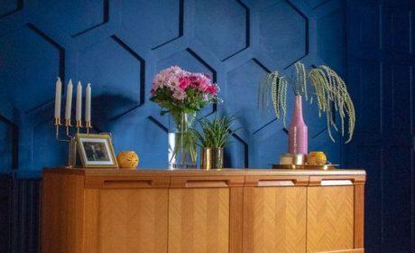 استفاده از دیوار سرمه ای و ترفندهای زیبایی در خانه های مدرن امروزی
