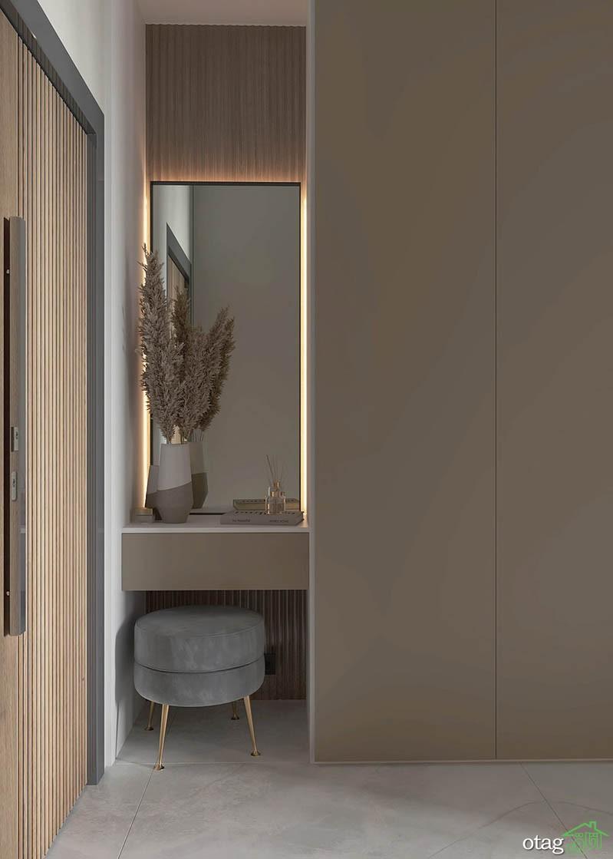 دو دستگاه آپارتمان 50 متری با چیدمان هوشمندانه و شیک
