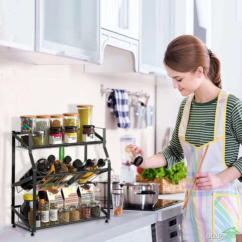 انواع جدید اکسسوری آشپزخانه برای زیباسازی و مرتب کردن فضا