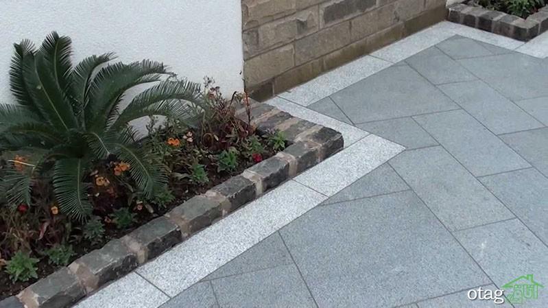 انواع مدلهای کفپوش حیاط خانه با طراحی بینظیر و جدید