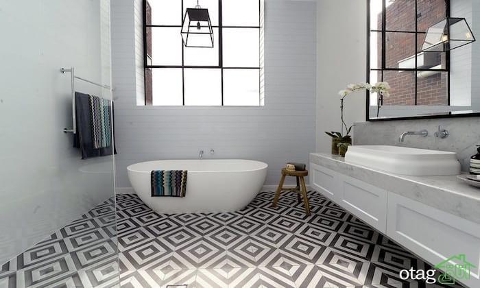 کفپوش حمام جدید، معرفی 9 ایده برتر از نظر طراحان داخلی