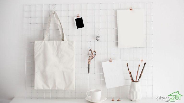 تزیین میز تحریر با ایدههای ساده و مفید برای افزایش کارایی