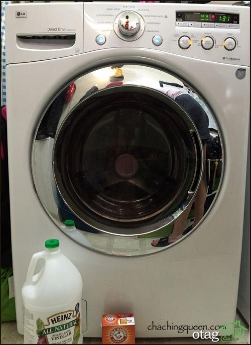 نحوه تمیز کردن ماشین لباسشویی با ترفندهای ساده و کاربردی