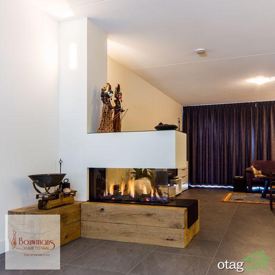 مدلهای جدید شومینه هیزمی مدرن مناسب آپارتمان و خانه باغ