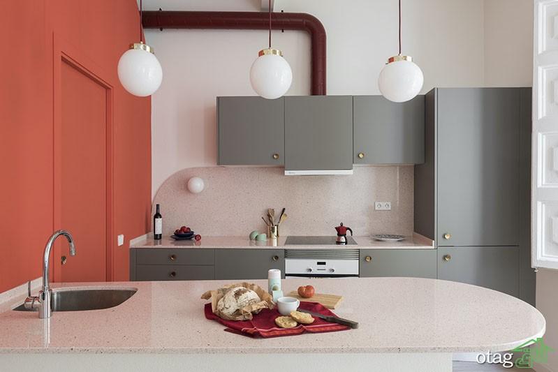 وسایل آشپزخانه قرمز، ایدههایی جالب برای طراحی جسورانه