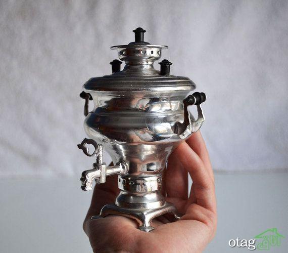 25 مدل سماور دکوری کوچک برای نمایش بر روی اپن آشپزخانه