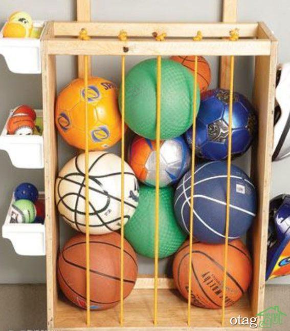 سبد و باکس اسباب بازی اتاق کودک در انواع چوبی و پارچهای