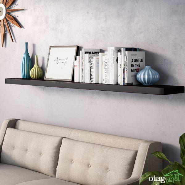 مدلهای جدید شلف دیواری برای تزیین دیوارهای خالی و بزرگ