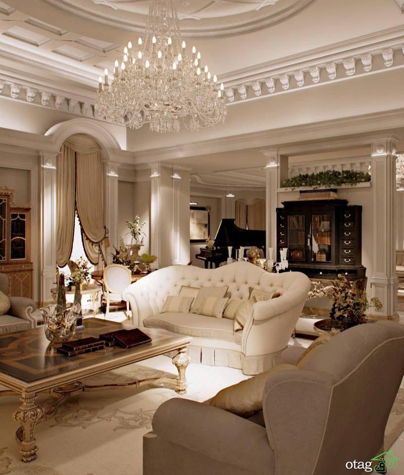 برترین مدل های چیدمان کاناپه سفید در خانه