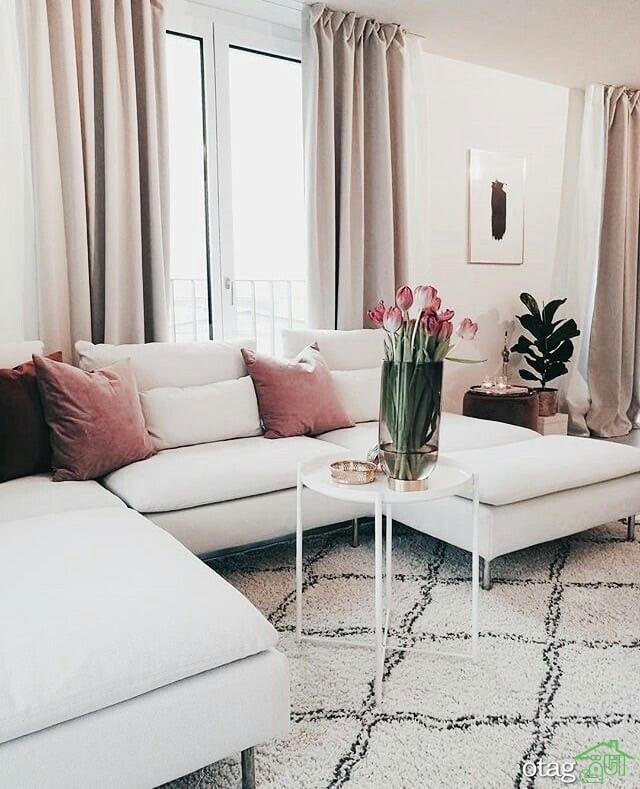 مزیت مبل سفید در دکوراسیون حرفه ای خانه
