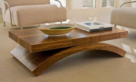 معرفی جذاب ترین مدل میز جلو مبلی چوبی مدرن برای خانه های مدرن امروزی