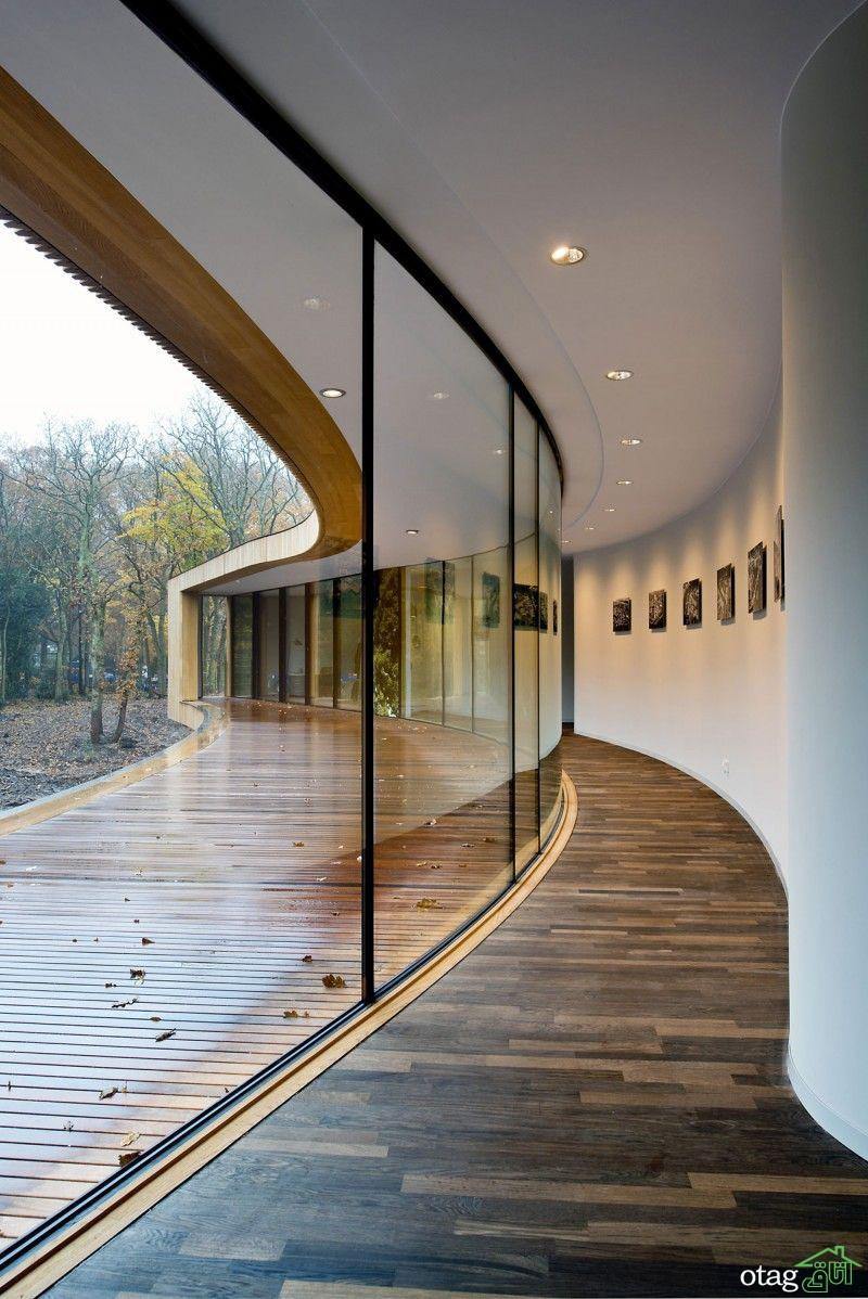 دیوار شیشهای در دکوراسیون داخلی ، بررسی نمونههای اجرا شده