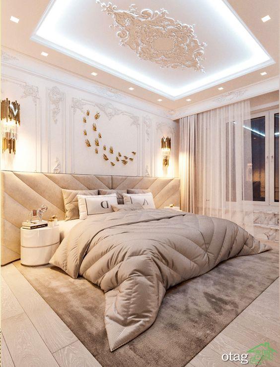 سقف اتاق خواب جوان، معرفی ایدههای جذاب و ساده برای طراحی