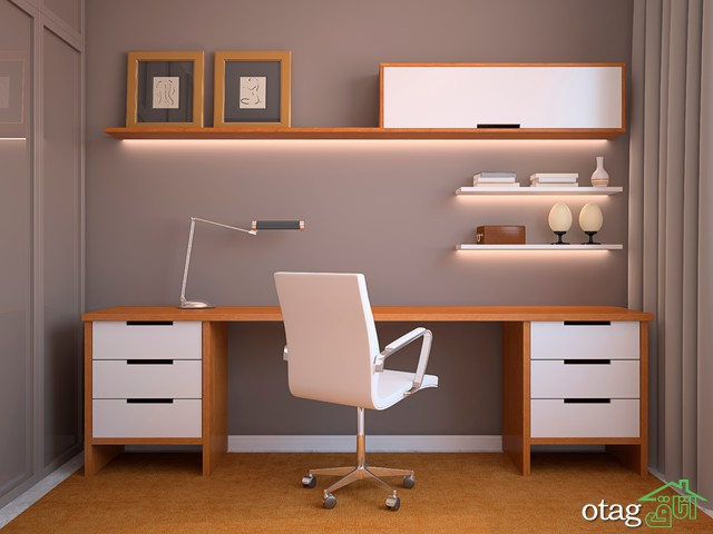 4 نکته مهم در انتخاب بهترین نور برای اتاق کار در منزل