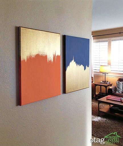 ایجاد بهترین دکوراسیون با تابلو در خانه های امروزی