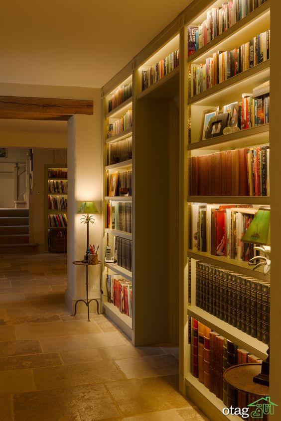 چیدمان کتابخانه منزل، 6 روش ساده برای شیک نشان دادن کتابخانه