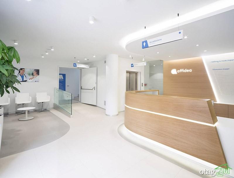 دکوراسیون اتاق انتظار مطب پزشکی با طراحی جدید سال 2021