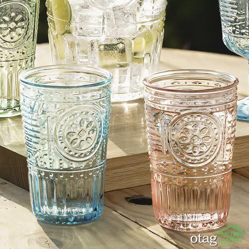 30 مدل لیوان فانتزی شیشهای نوشیدنی با طراحی شگفت انگیز