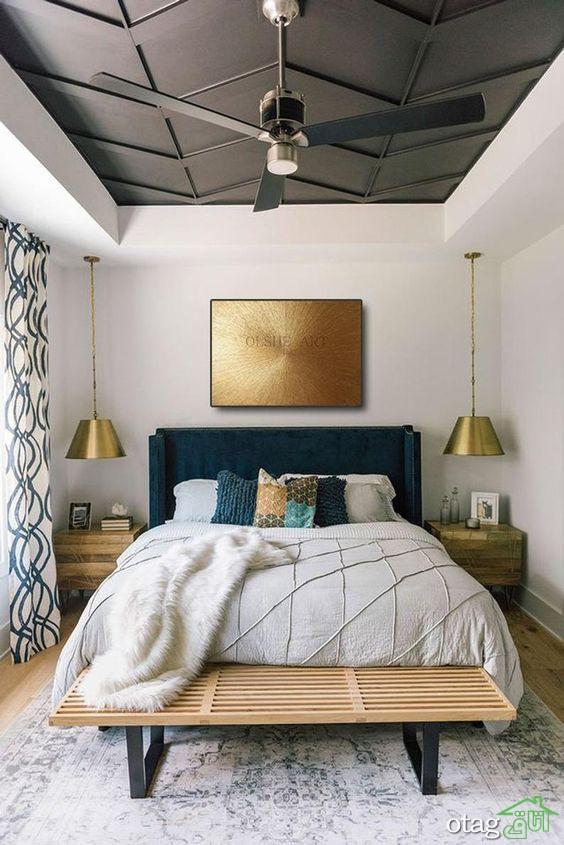 بهترین و زیباترین ایده های دکوراسیون اتاق خواب مدرن