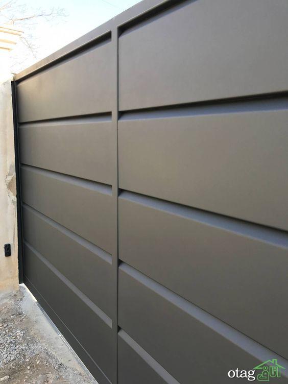 اندازه درب پارکینگ ماشین رو برای منازل مسکونی + طرحهای جدید