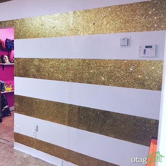 طرحهای جدید کاغذ دیواری اکلیلی برای پذیرایی و اتاق خواب