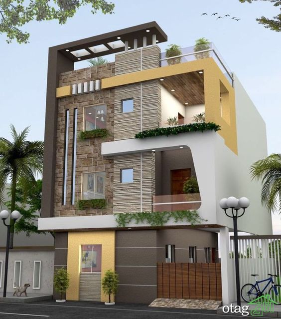 ایدههای جذاب برای انتخاب بهترین رنگ نمای ساختمان با ترکیبهای متنوع