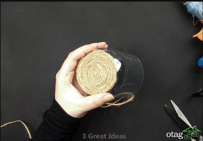 آموزش ساخت جامدادی رومیزی با بطری پلاستیکی فقط در 10 دقیقه