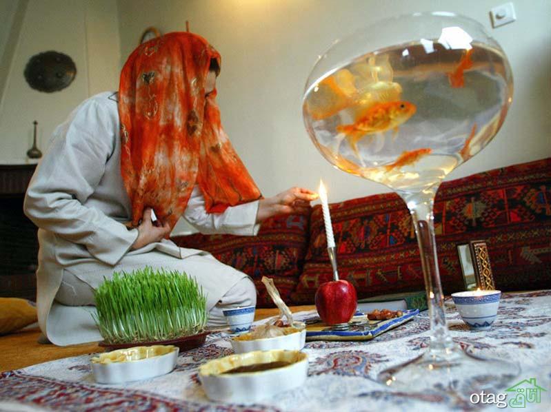 40 مدل عکس سبزه عید نوروز برای سفره هفت سین سال 1400