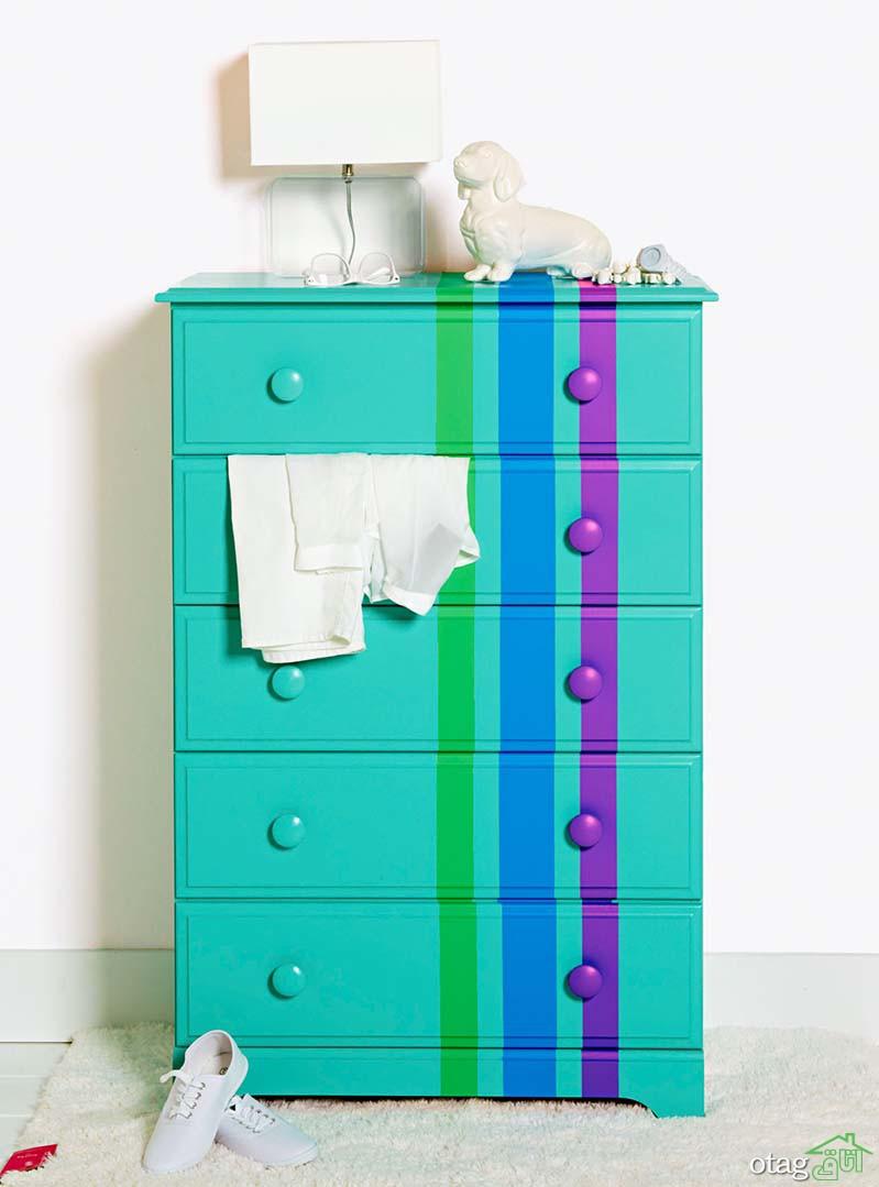 ایدههای جذاب رنگ آمیزی مبلمان برای متحول کردن دکوراسیون