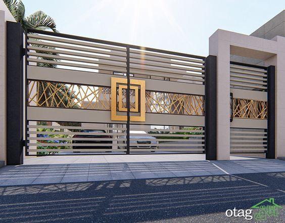 اندازه استاندارد درب در پلان ساختمان برای فضای بیرون و داخل خانه