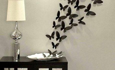 نمونه هایی از تزیینات روی دیوار به منظور زیباتر جلوه دادن دکوراسیون داخلی
