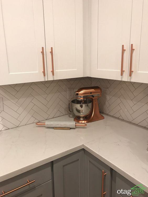 مدل کابینت مسی برای آشپزخانههای امروزی در رنگهای زیبا