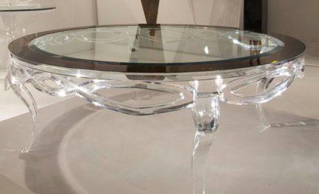 مدلهای جذاب میز شیشهای پذیرایی و نحوه تزیین منزل با آنها